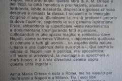 Pagina interna del Libro di A. Ortese