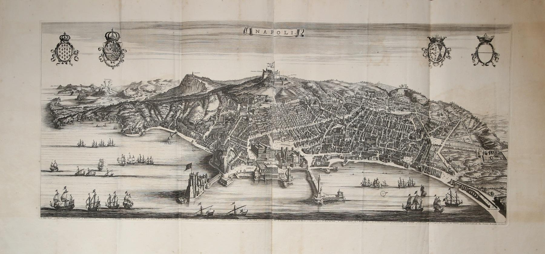 NAPOLI-Johannes-BLAEU-Editore-Amsterdam-1663