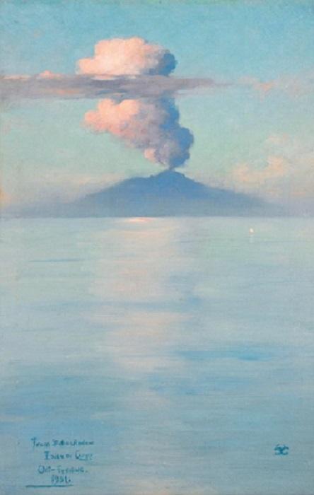 Il Vesuvio descritto nel viaggio di Goethe a Napoli insieme al pittore tedesco Tischhein
