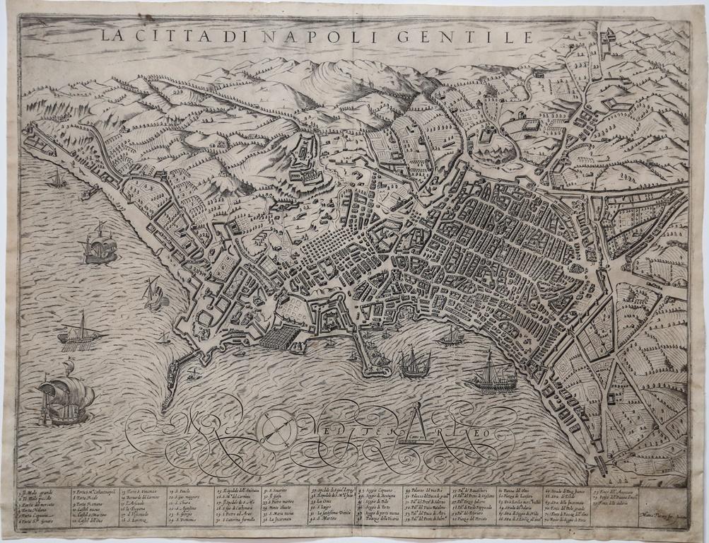 LA-CITTA-DI-NAPOLI-GENTILE-Matteo-FLORIMI-Editore-Siena-1600