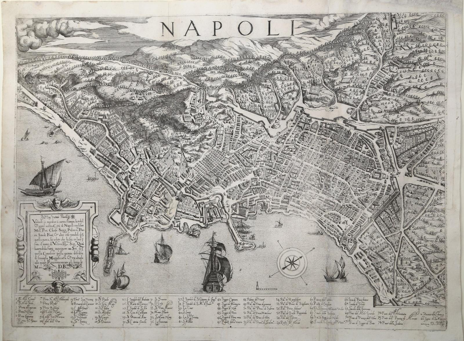 Napoli-Donato-Bertelli-1570