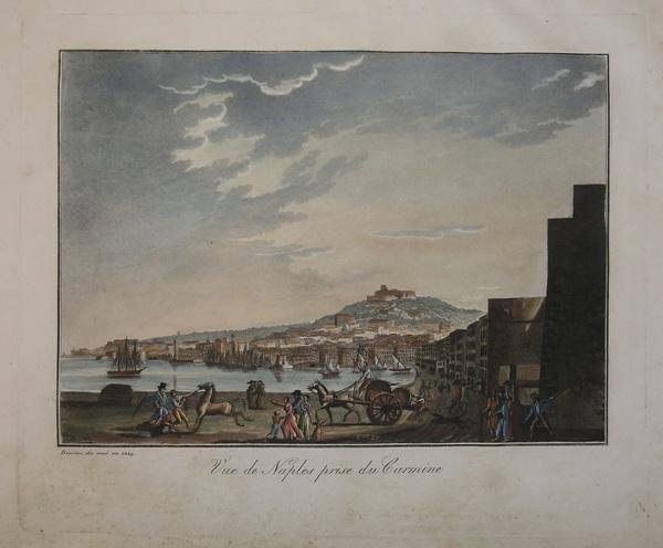 Vue-de-Naples-prise-du-Carmine-SCUOLA-FRANCESE-Editore-Parigi-1824